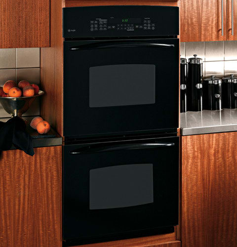 ge profile double oven 326b1230p001 manual 30 slide in electric convection range black