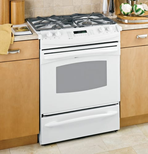 Ge Pgs975 30 Inch Slide In Gas Range With 4 Sealed Burners