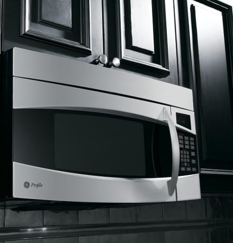 Ge Pvm1870smss 1 8 Cu Ft Over The Range Microwave Oven With 1100
