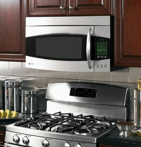 Ge Pvm2070smss 2 0 Cu Ft Over The Range Microwave Oven