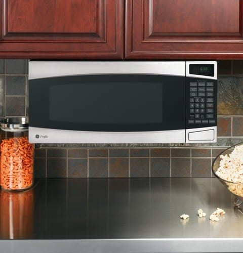 Ge Pem31smss 1 0 Cu Ft Countertop Microwave Oven With 800 Watts 10 Power Levels 6