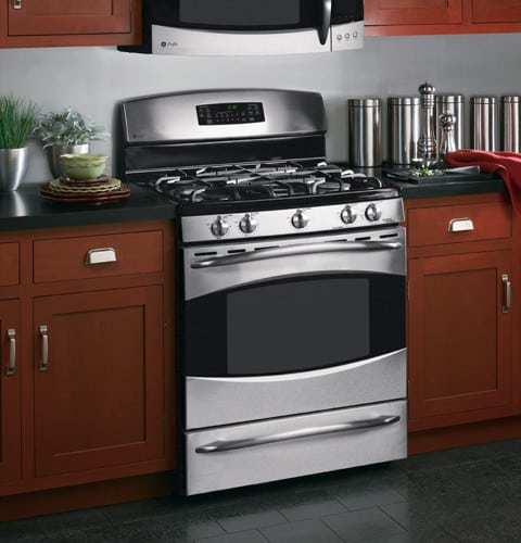 Ge Pgb908semss 30 Inch Gas Range With 5 Sealed Burners