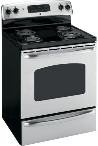 Ge Jbp35smss 30 Inch Electric Range With 4 Coil Elements