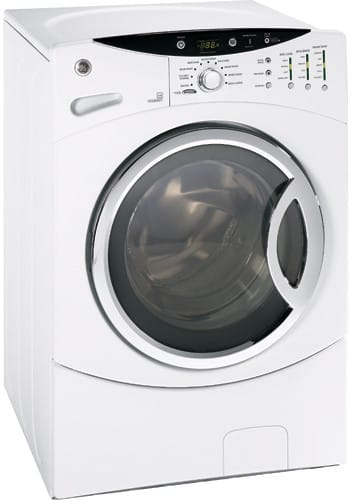 Ge Wcvh6800jww 27 Inch Front Load Washer With 3 5 Cu Ft