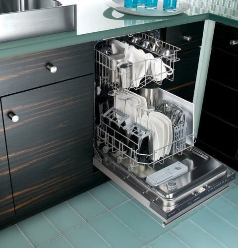 Monogram Zbd1870nss 18 Inch Fully Integrated Dishwasher