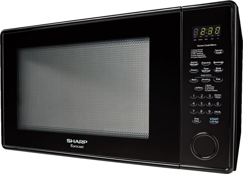 Sharp R659yk 2 2 Cu Ft Countertop Microwave Oven With
