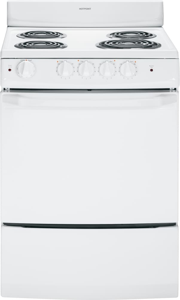 Hotpoint Ra724kwh 24 Inch Freestanding Electric Range With
