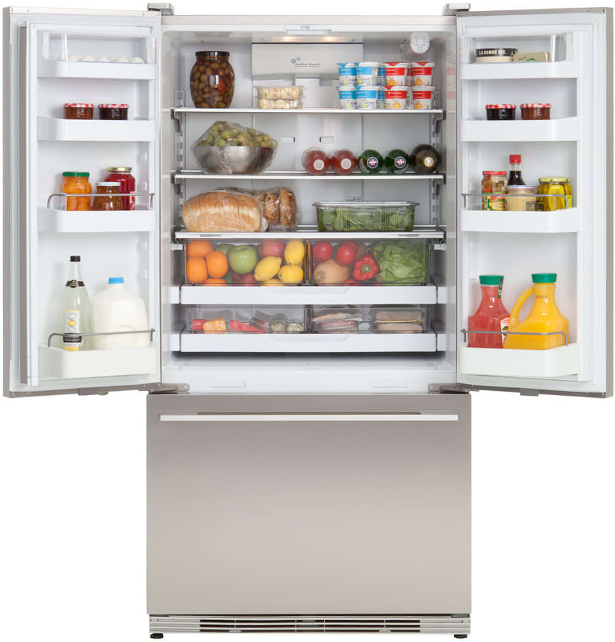 Fisher Paykel Rf195adux1 195 Cu Ft French Door Refrigerator