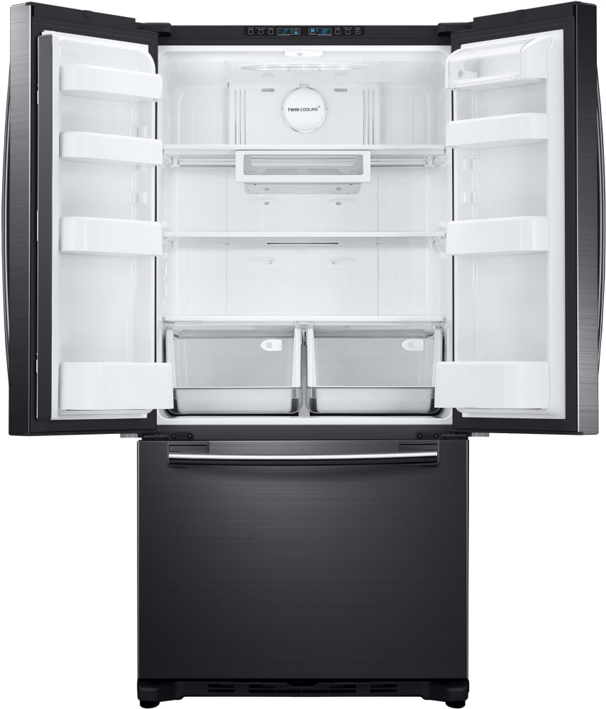 Samsung Rf20hfenbsg 33 Inch French Door Refrigerator With