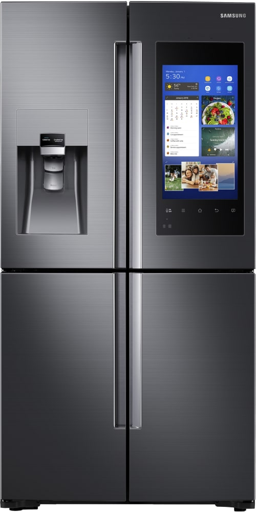 Samsung Rf22m9581sg Black Stainless 36 Counter Depth 4 Door French