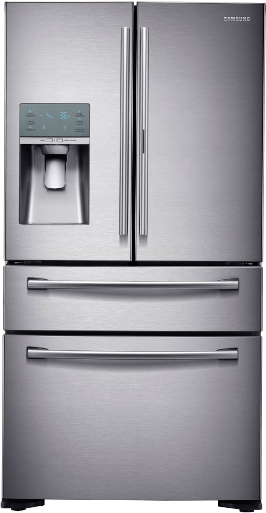 Samsung RF22KREDBSR   22 Cu. Ft. Counter Depth 4 Door French Door ...