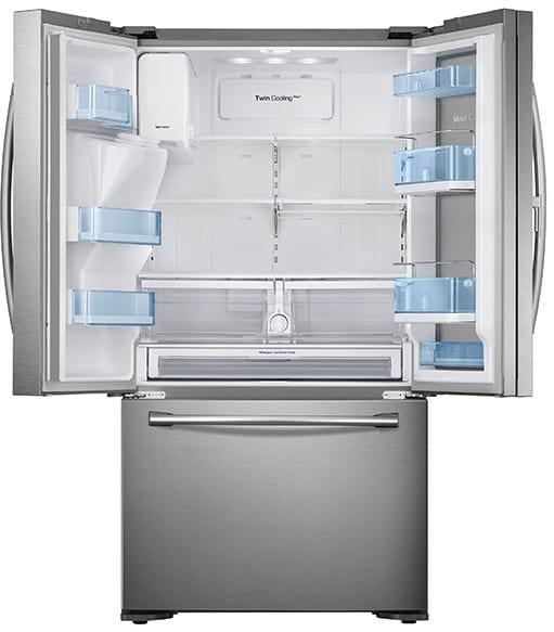 Rf23htedbsr Samsung Showcase Refrigerator 36 Inch French
