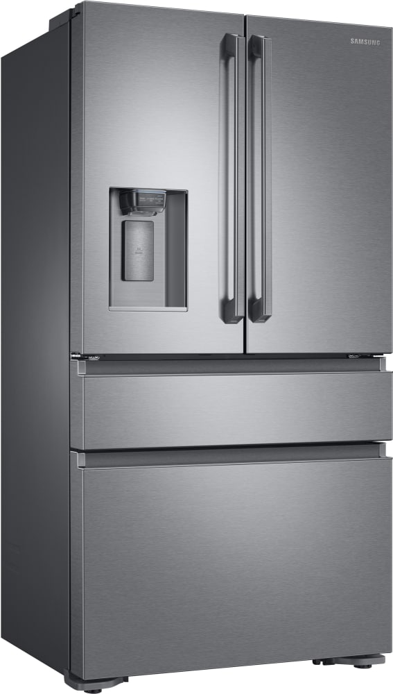 ... Samsung RF23M8090SR   36 Inch Counter Depth French Door Refrigerator  With Metal Cooling FlexZone Drawer ...