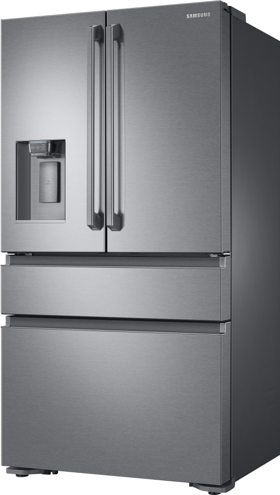 ... Samsung RF23M8090S   36 Inch Counter Depth French Door Refrigerator  With Metal Cooling FlexZone Drawer ...