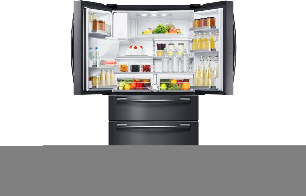 Samsung Rf25hmedb 33 Inch 4 Door French Door Refrigerator