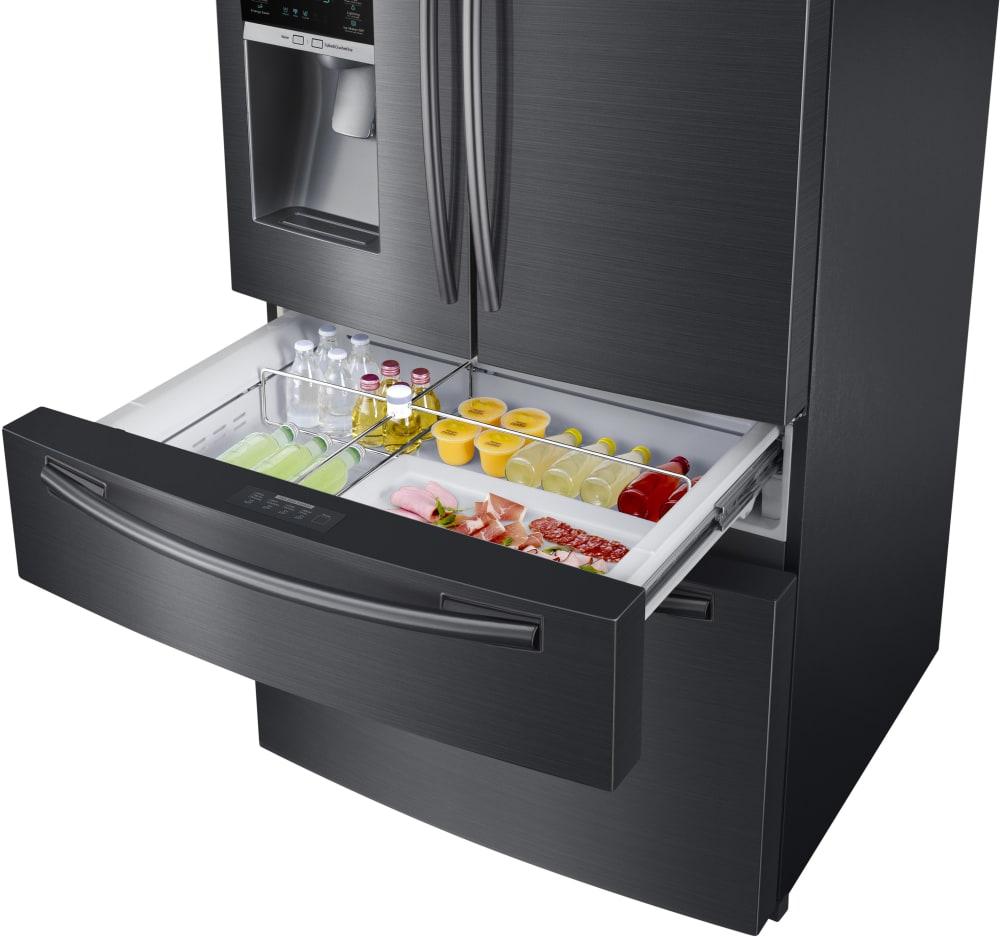 Samsung Rf25hmedb 33 Inch 4 Door French Door Refrigerator