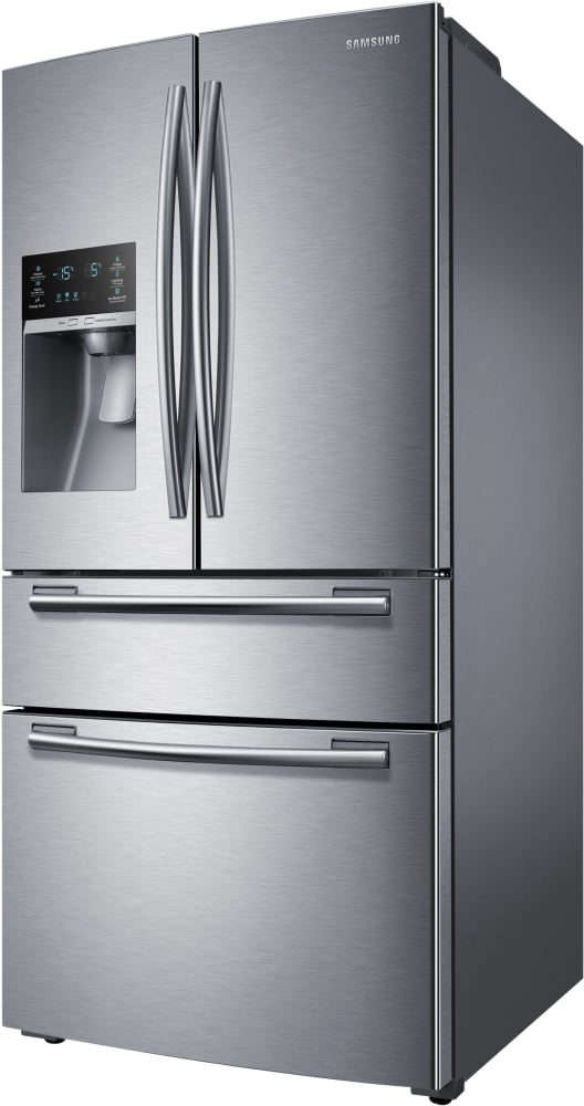 Rf25hmedbsr Samsung Stainless Steel 33 Inch French Door