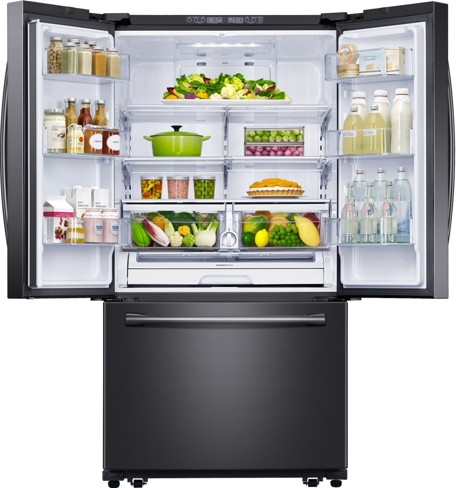 Samsung Rf260beae 36 Inch French Door Refrigerator With