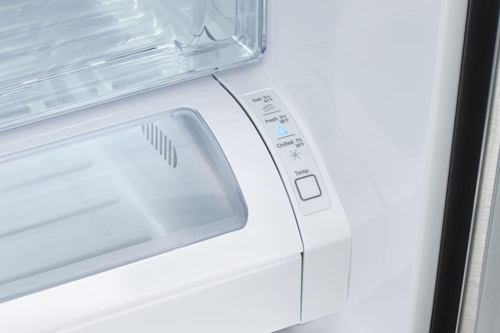 Samsung Rf260beaeww 36 Inch French Door Refrigerator With