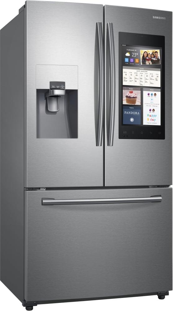 Samsung Rf265beaesr 36 Inch French Door Refrigerator With