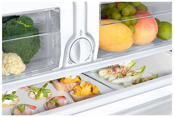 Samsung Rf26j7500ww 33 Inch French Door Refrigerator With