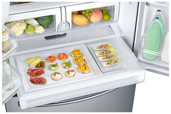Samsung Rf26j7500 33 Inch French Door Refrigerator With