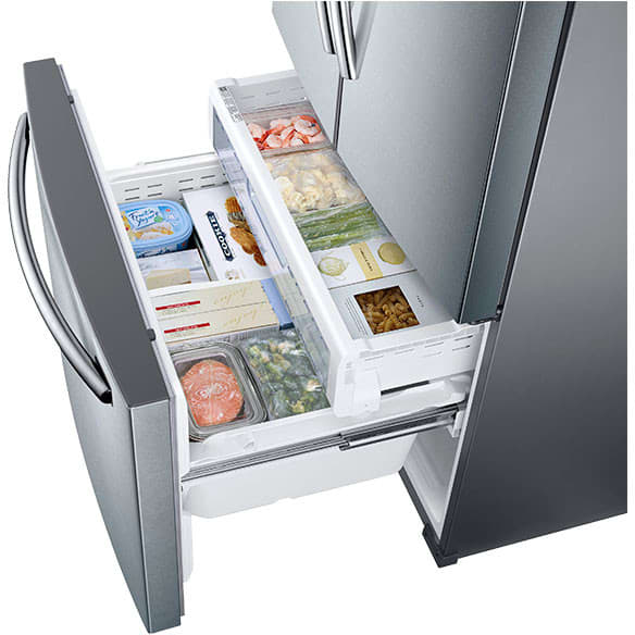 Samsung Rf26j7500sr 33 Inch French Door Refrigerator With