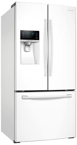 Beautiful RF18HFENBWW Samsung 33 Source · Samsung RF26J7500WW 33 Inch French Door  Refrigerator With
