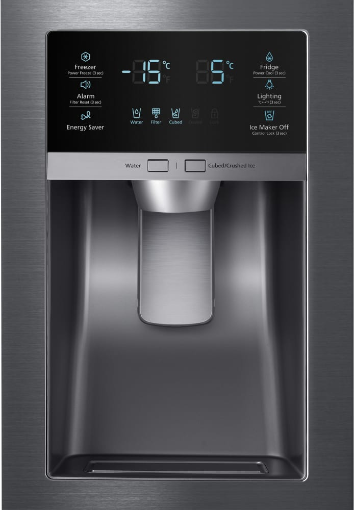Samsung Rf28hfedbsg 36 Inch French Door Refrigerator With