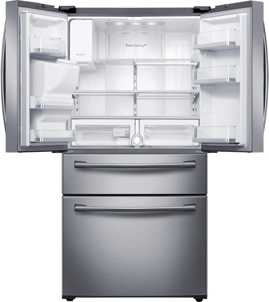French Door lg 30 french door refrigerator pictures : RF28HMEDBSR Samsung Stainless Steel 36