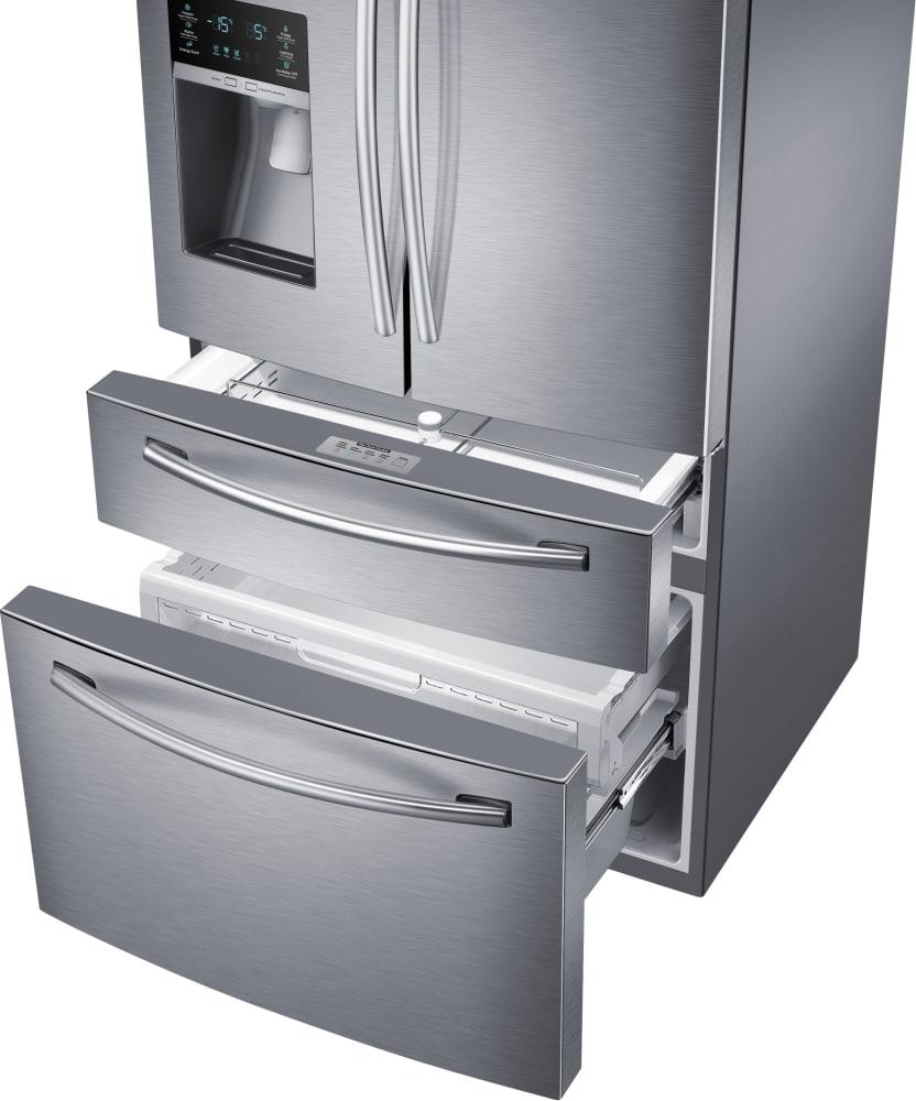 ... Samsung RF28HMEDBSR   FlexZone Drawer And Freezer ...