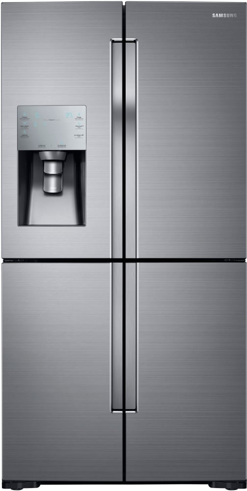 Samsung french door refrigerator not making ice after reset
