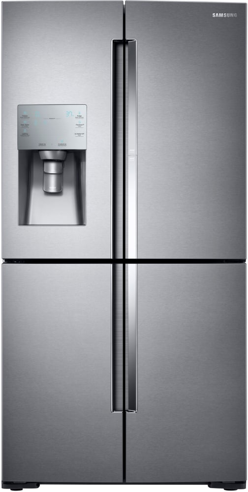 Samsung RF28K9380SR 36 Inch 4 Door French Door Refrigerator With 28 Cu Ft C