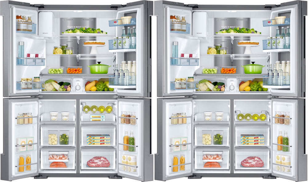 4 Door Refrigerator Samsung Door Ideas Themiraclez