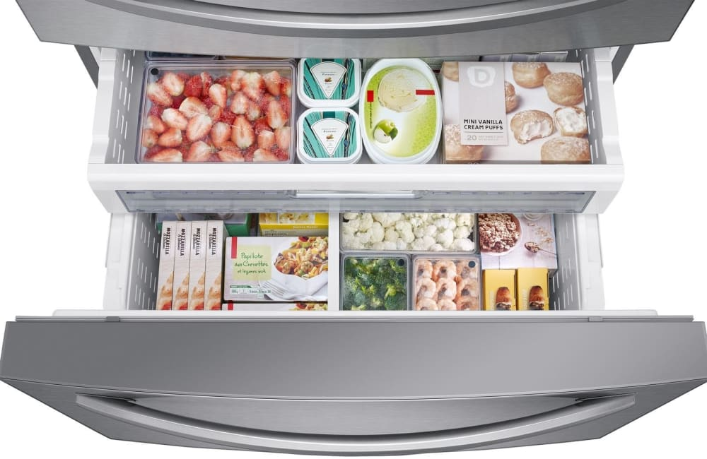 Samsung Rf28r7201sr 36 Inch 4 Door Refrigerator With 28 Cu
