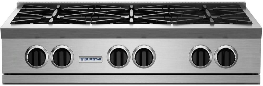 Bluestar Rgtnb Series Rgtnb366bv2ng 36 Inch Gas Rangetop