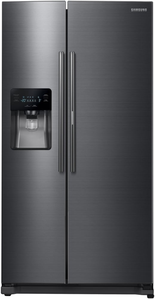 Rh25h5611sg Samsung Black Stainless Steel 36 Quot Side By Side