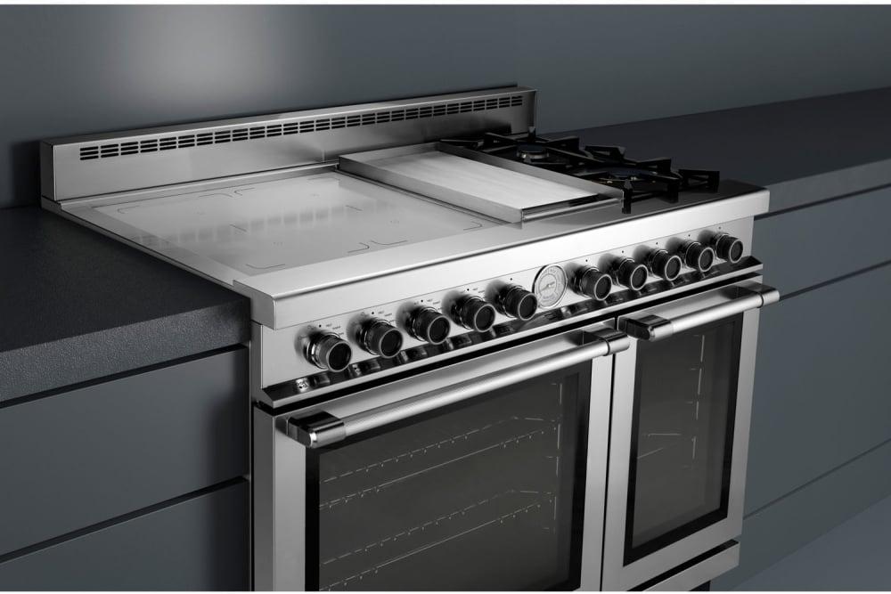 Superiore Rn483gpss 48 Inch Freestanding Dual Fuel Range