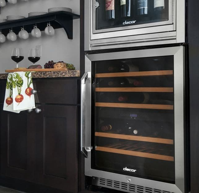 Dacor Rnf242wcr 24 Inch Built In Wine Cooler With 46