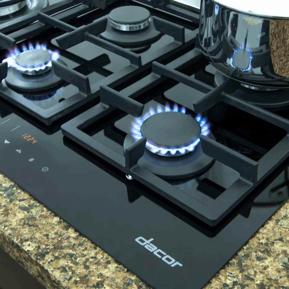 Dacor Rntt365gbng 36 Inch Touchtop Gas Cooktop With 5