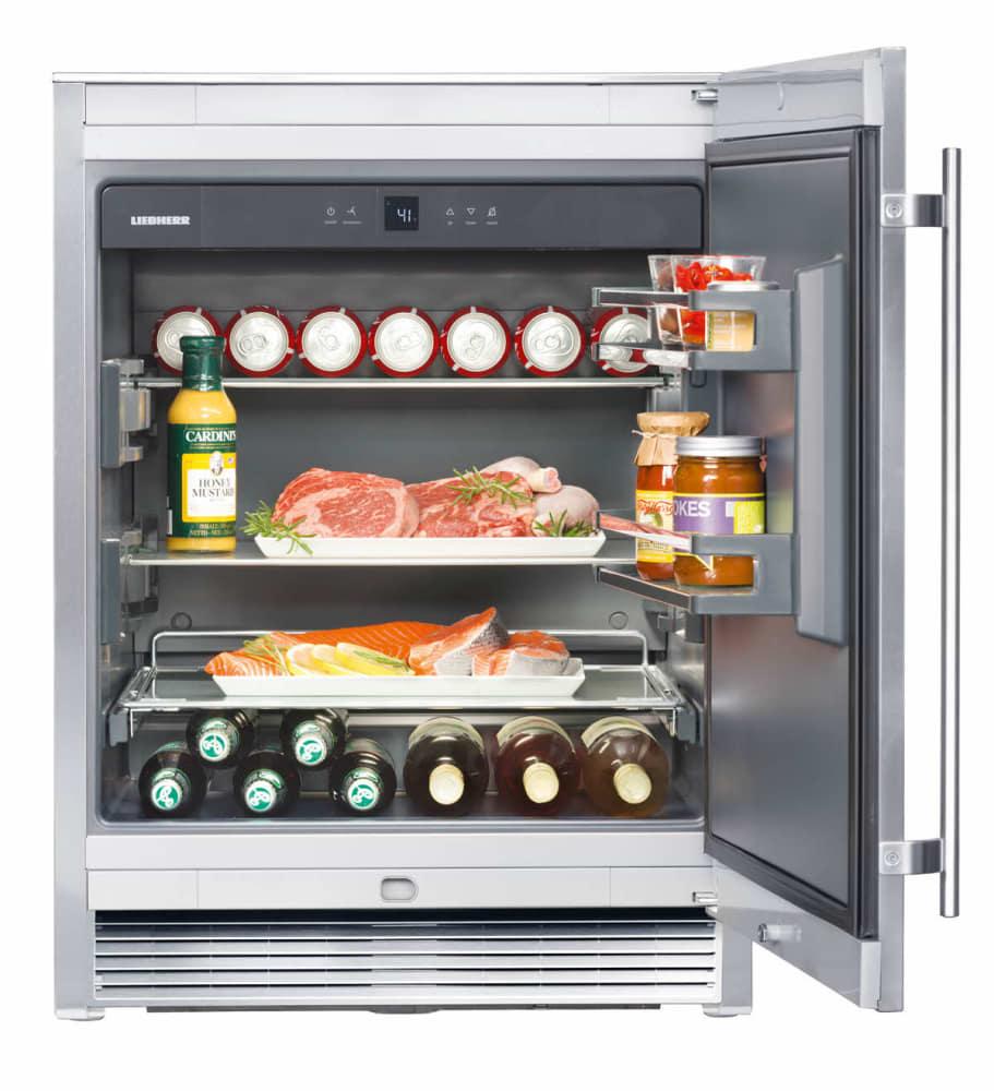 liebherr ro510 37 cu ft compact 2 glass shelves 2