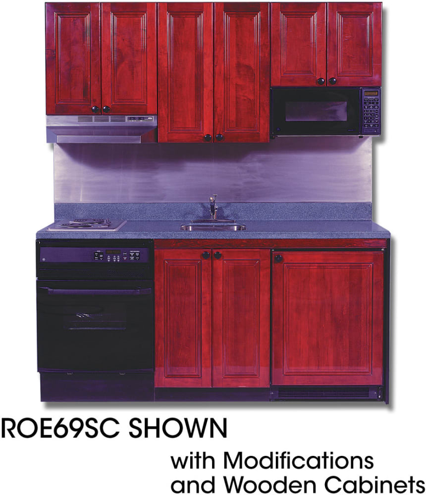 Kithen Mini: Acme ROE9Y69SC Compact Kitchen With Solid Surface