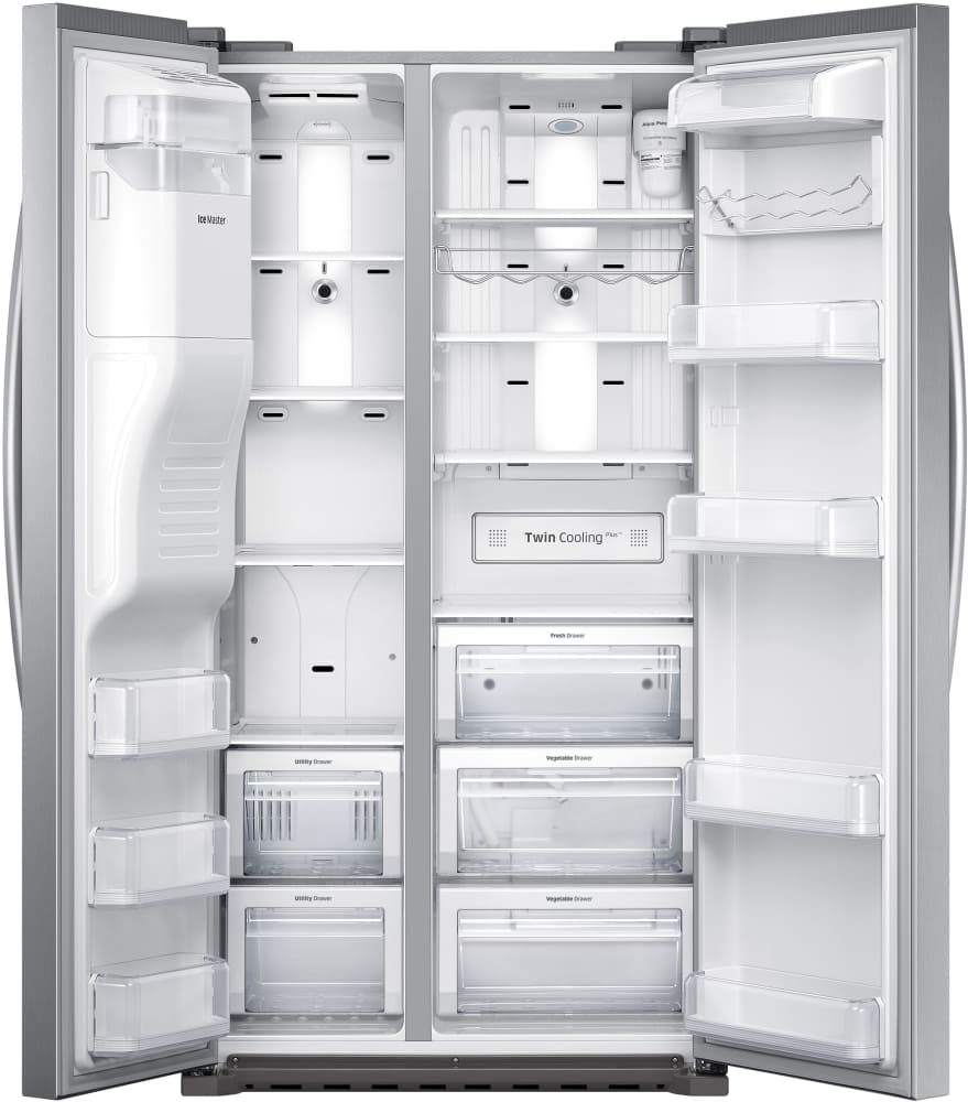 Samsung Rs22hdhpnsr 36 Inch Counter Depth Side By Side Refrigerator