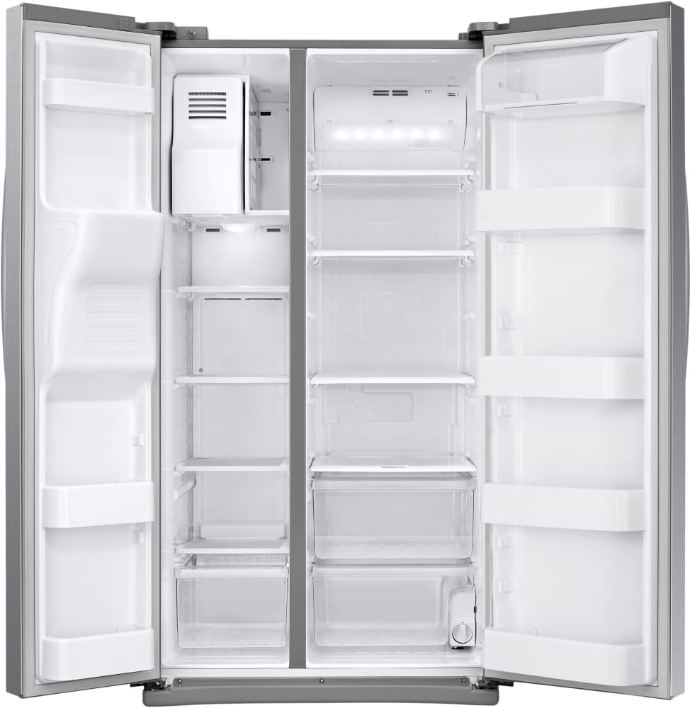 Samsung Rs25j500d 36 Inch Side By Side Refrigerator With