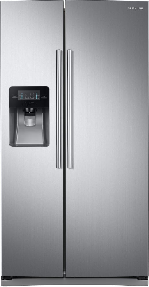 Samsung Rs25j500dsr 36 Inch Side By Side Refrigerator With