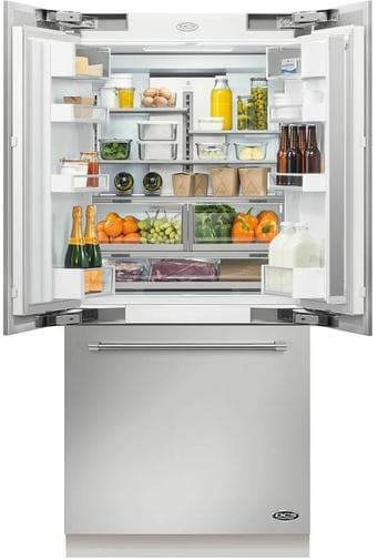 Dcs Rs36a80uc1 36 Inch Built In French Door Refrigerator