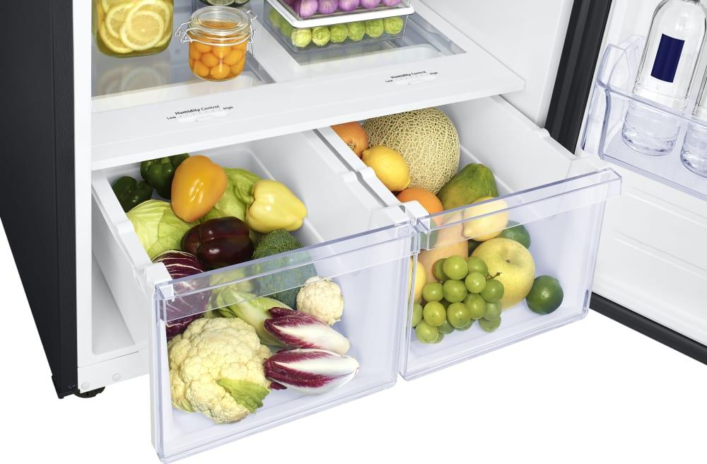 Samsung Rt18m6215sg 29 Inch Top Freezer Refrigerator With