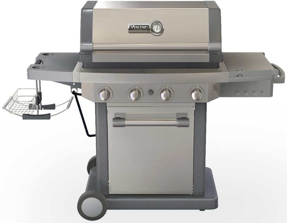 Viking rvbq130ss 58 inch freestanding lp gas grill with for Viking outdoor grill