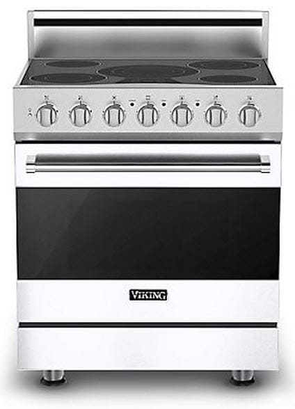 Viking Rver33015b 30 Inch Freestanding Electric Range With