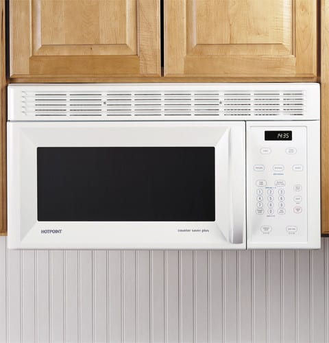 Hotpoint Rvm1435wh 1 4 Cu Ft Over The Range Spacemaker